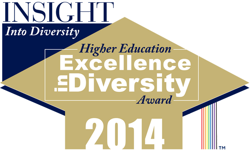 Image result for 2014 higher education excellence in diversity award
