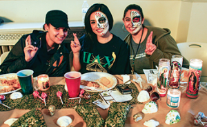 Students participate in Day of the Dead activities to celebrate the Mexican holiday