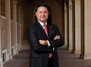 Juan Muñoz, PhD, senior vice president for institutional diversity, equity, and community engagement and vice provost for undergraduate education and student affairs