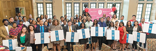 Groups Scholars Program graduating seniors are honored at its 2017 year-end celebration.