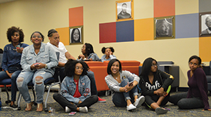 The Student Multicultural Center leads Sister Circle, a group for Kent State female and female-identifying students of color to promote their personal, social, cultural, and professional development.