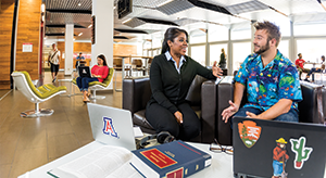 Students at the University of Arizona James E. Rogers College of Law