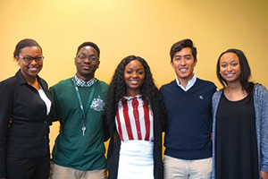 MSP students are encouraged to maintain strong bonds with fellow cohort members and peer mentors throughout their undergraduate careers.