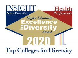 Graphic of the INSIGHT Into Diversity Health Professions HEED Award logo