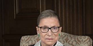 Photo of the late Supreme Court Justice Ruth Bader Ginsburg