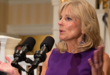 Photo of the future first lady of the United States, Jill Biden