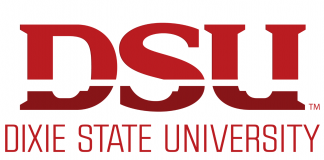 The logo for Dixie State University