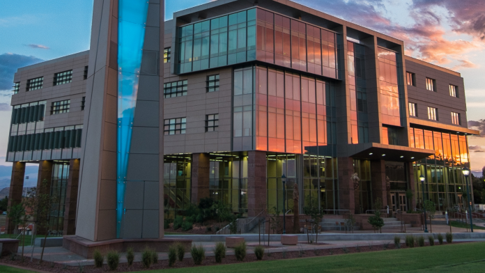 Photo of The Holland Centennial Commons and Clock Tower at Dixie State University