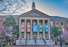 Carroll Hall, home to the Hussman School of Journalism at the University of North Carolina.